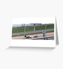 Formula Mazda Greeting Card