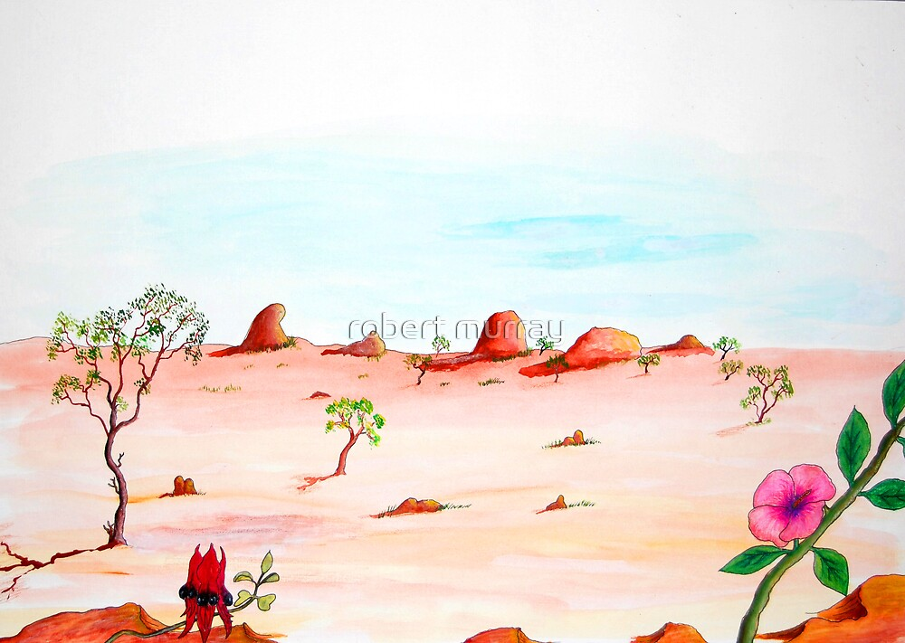 Desert Blooms by robert murray