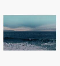 Blue California Ocean Photographic Print