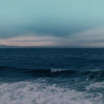 Blue California Ocean by adventurlings