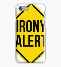 Irony iPhone Case/Skin