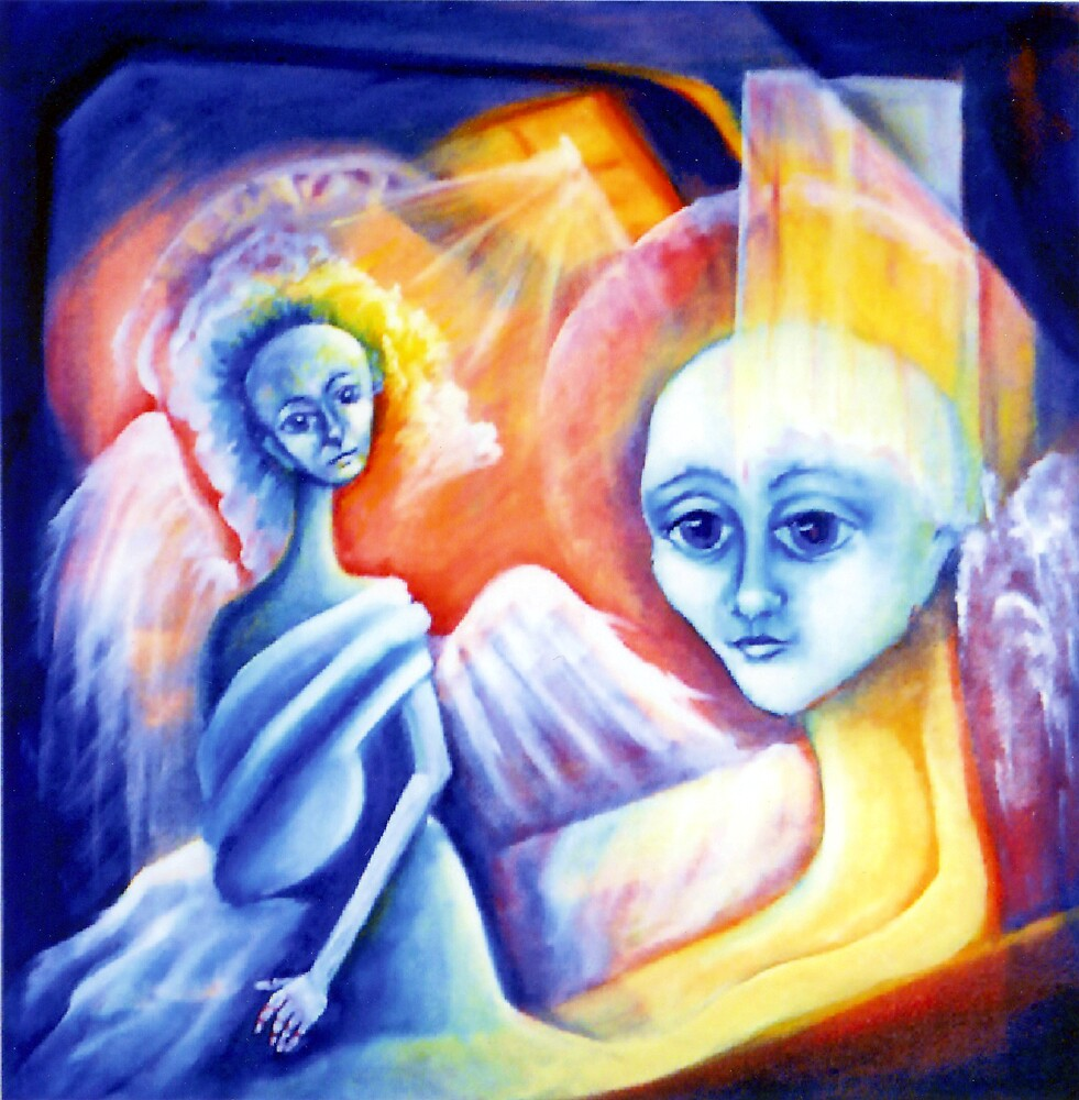 TWO ANGELS by IRENE NOWICKI