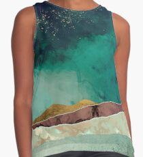 Spring Night Contrast Tank