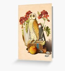 Apprentice Owl Greeting Card