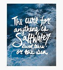 Saltwater Photographic Print