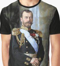 Tsar Nicholas II of Russia Graphic T-Shirt