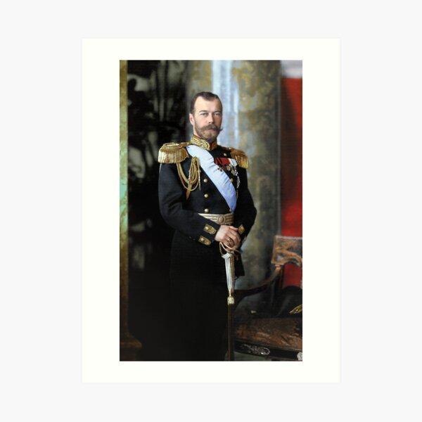 Tsar Nicholas II of Russia Art Print