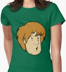Shaggy Womens Fitted T-Shirt