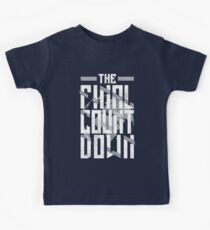 The Final Countdown Kids Tee