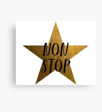Non-Stop - Hamilton Star Canvas Print