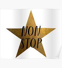 Non-Stop - Hamilton Star Poster