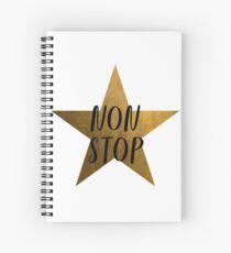 Non-Stop - Hamilton Star Spiral Notebook