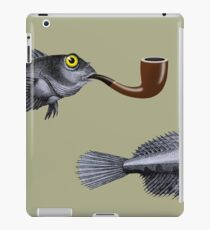 Magritte Fish iPad Case/Skin