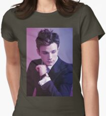 Chris Colfer Womens Fitted T-Shirt