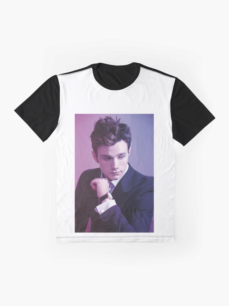 Alternate view of Chris Colfer Graphic T-Shirt