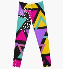 Memphis-Dreiecke Leggings