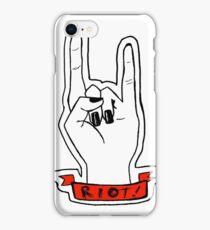 RIOT! iPhone Case/Skin
