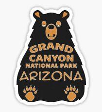 BEAR GRAND CANYON NATIONAL PARK ARIZONA OUTDOORS NATURE VINTAGE DECAL Sticker