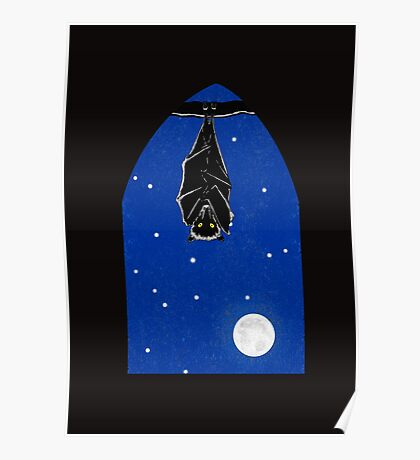 Bat in the Window Poster