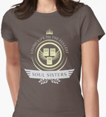 Soul Sisters Life V2 Womens Fitted T-Shirt