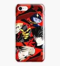 Persona 5 All Out Attack iPhone Case/Skin
