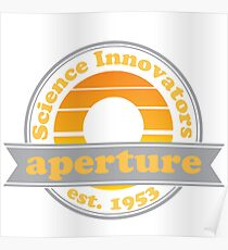 Aperture Science Innovators: Retro Poster