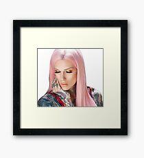 Jeffree Star Beach Framed Print