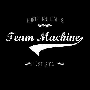 Team Machine Reverse by rainilyahead