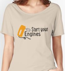 baking - start your engines Women's Relaxed Fit T-Shirt