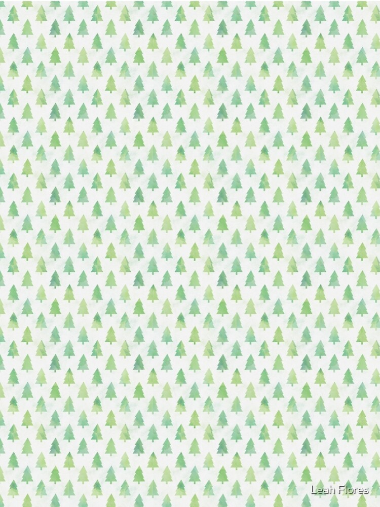 Simple Pine Tree Forest Pattern by adventurlings