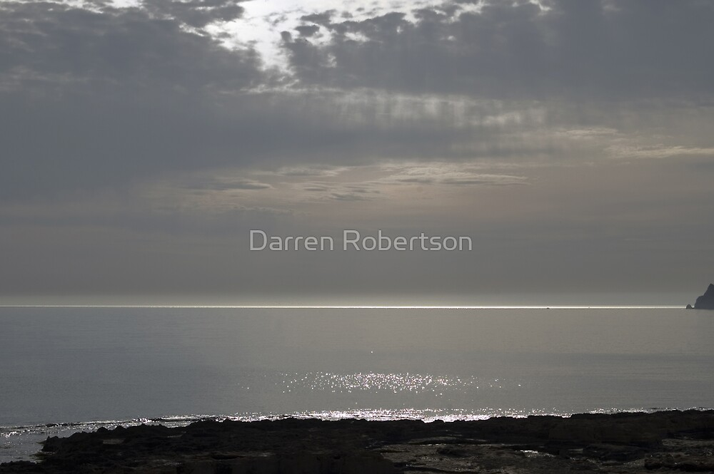 Seascape from the Parador (Javea Spain 2007) by Darren Robertson