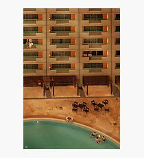 Hotel Pool Photographic Print