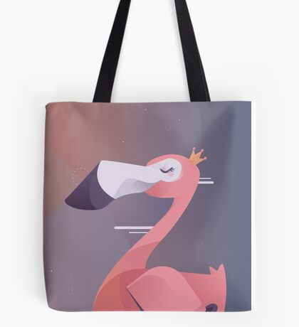 Royal Flamingo Tote Bag