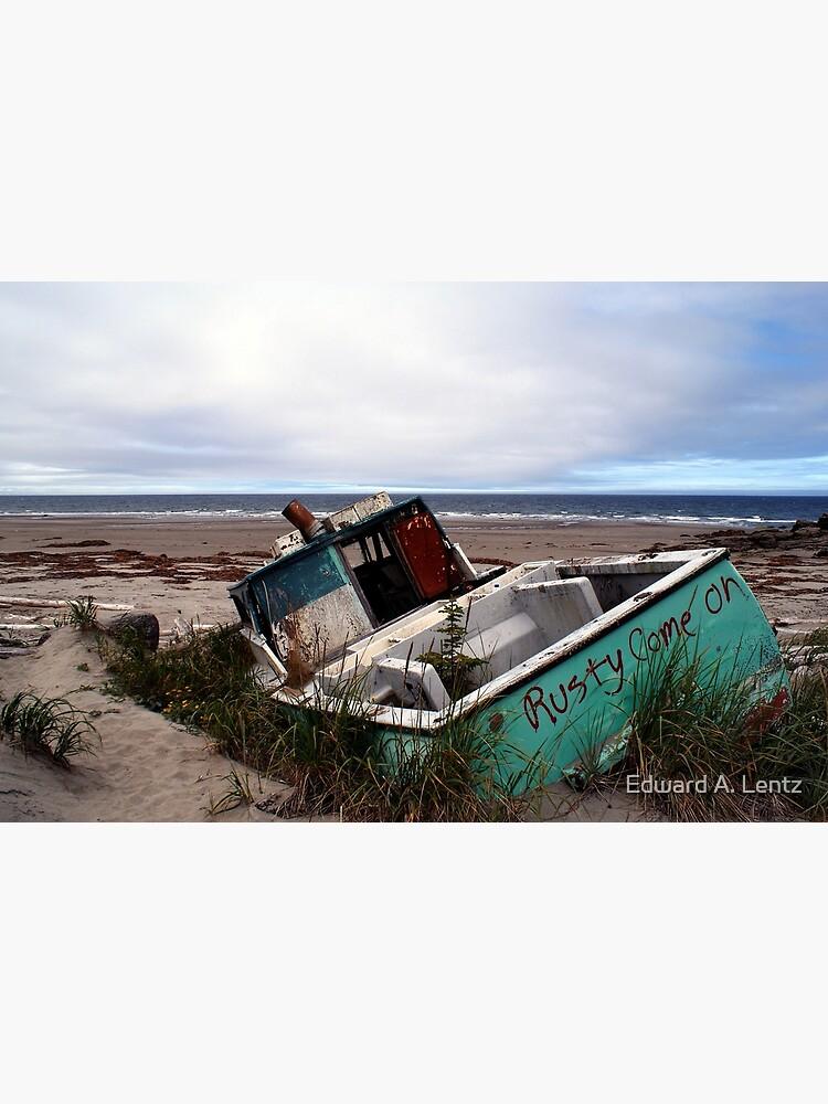 Rusty Come On (Fishing Boat Wreck, Yakan Point, Haida Gwaii, British Columbia, Canada) by AdrianL