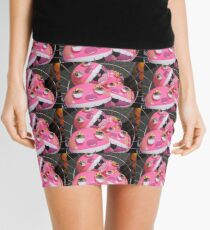 Pink Monster Beach Ball Mini Skirt