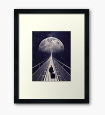 Space Trip II Framed Print