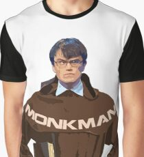 University Challenge Personalities - The Monkman #3 Graphic T-Shirt