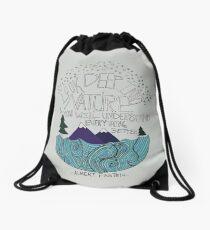 Einstein: Nature Drawstring Bag