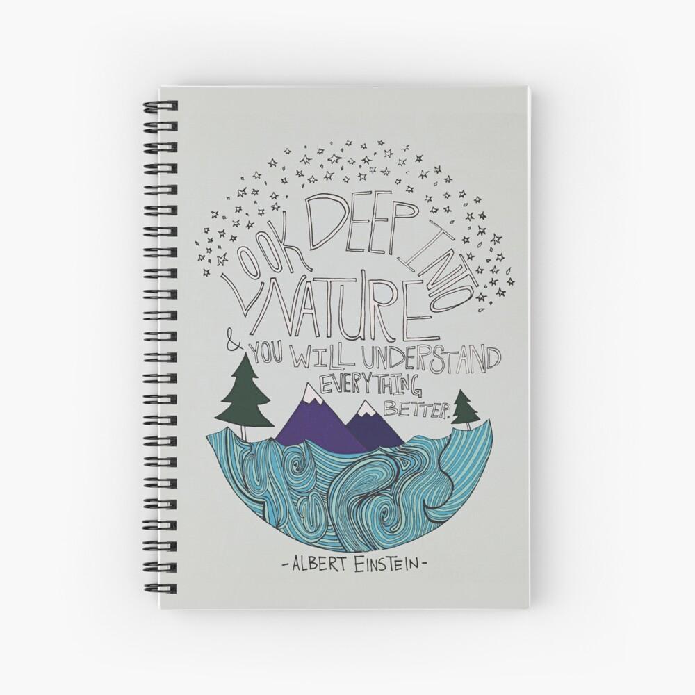 Einstein: Naturaleza Cuaderno de espiral