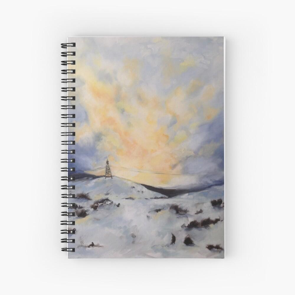 Snowset Spiral Notebook