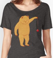 Bear with Yoyo Skills Women's Relaxed Fit T-Shirt