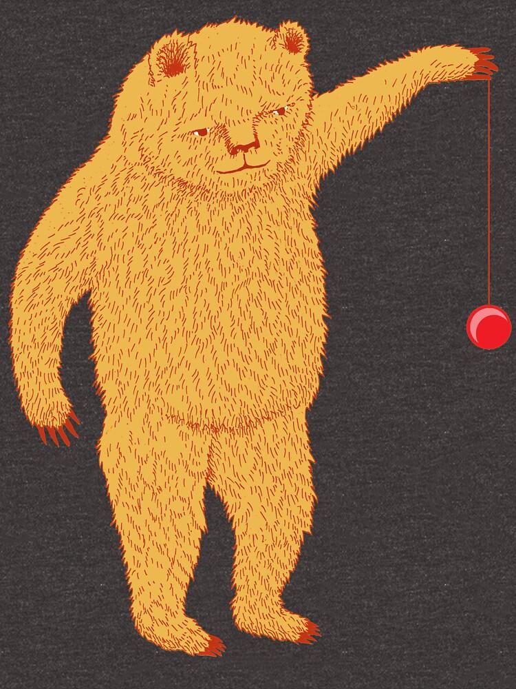 Bear with Yoyo Skills by SusanSanford
