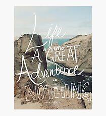 Great Adventure Photographic Print