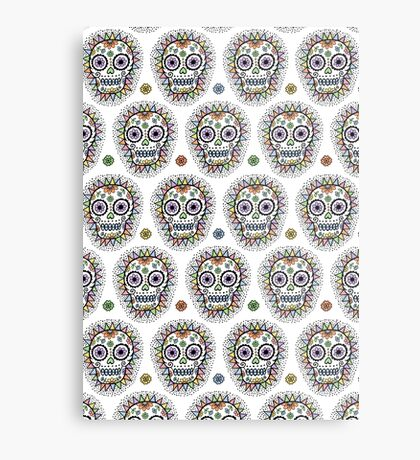 sugar skull hero Metal Print
