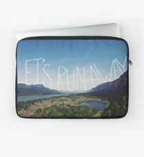 Let's Run Away VIII Laptop Sleeve