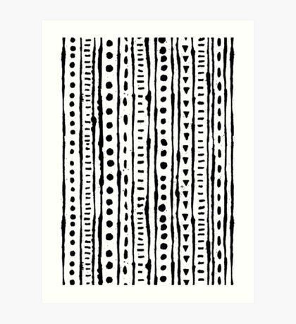 Ink Stripe Art Print