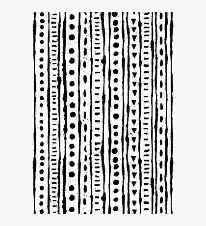 Ink Stripe Photographic Print