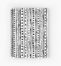 Ink Stripe Spiral Notebook