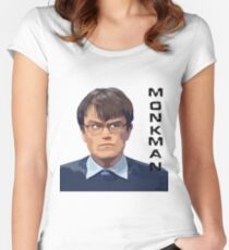 University Challenge Personalities - The Monkman Women's Fitted Scoop T-Shirt
