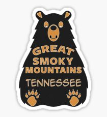 BEAR GREAT SMOKY MOUNTAINS NATIONAL PARK TENNESSEE EXPLORE NATURE Sticker